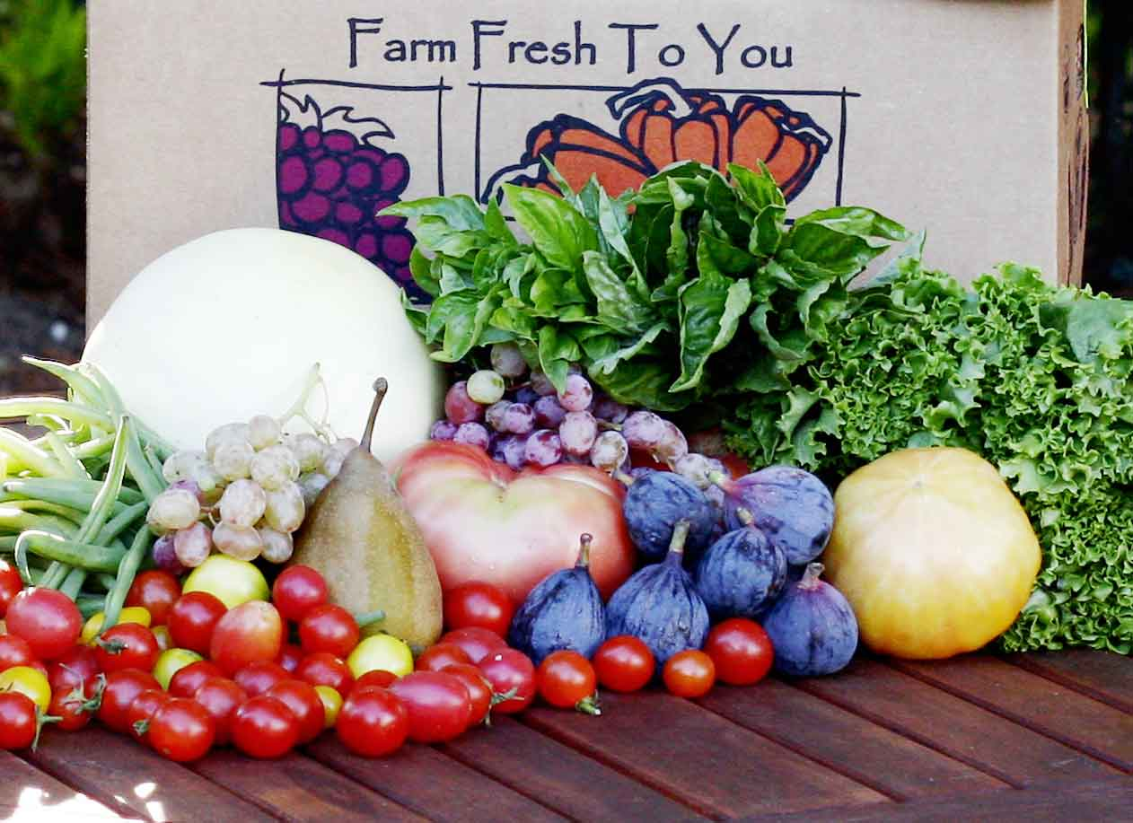 fundraising with farm fresh produce